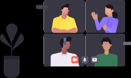 Video conferencing networking platform