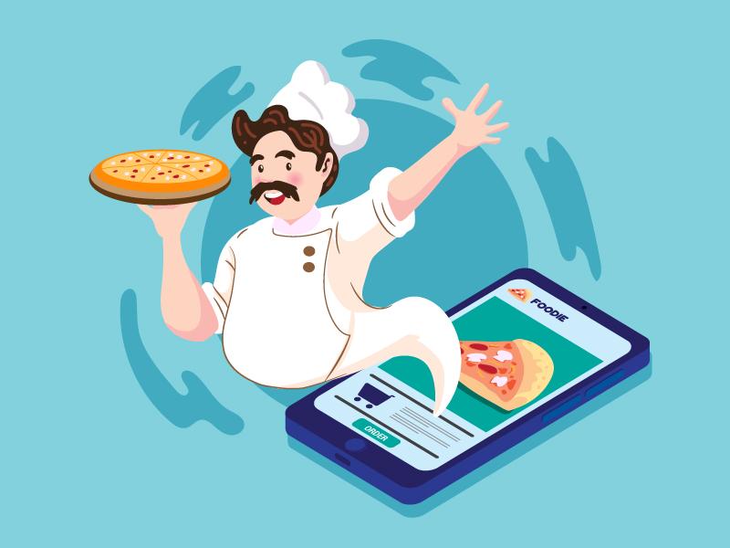 App Development Food business